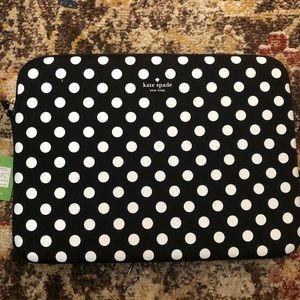 NWT Kate Spade 13 inch Laptop Sleeve